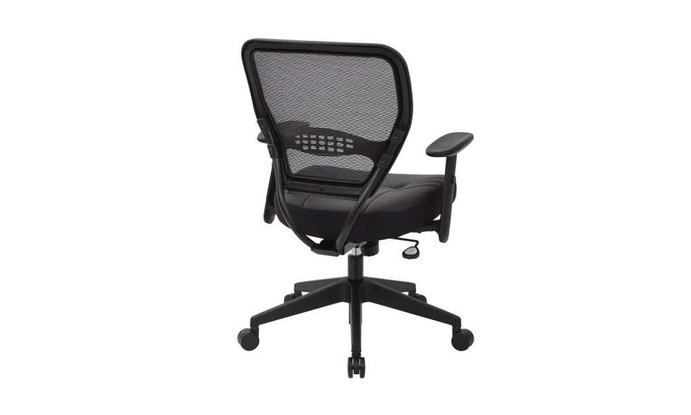 SPACE Seating 5700E Professional Dark AirGrid Managers Chair