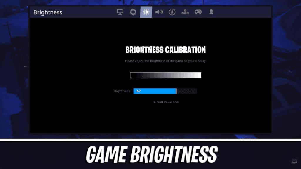 Ninja Fortnite Game Brightness