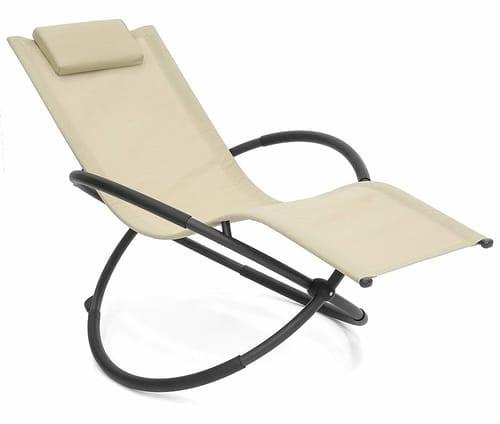 Best Choice Products Folding Orbital Zero Gravity Lounge Chair